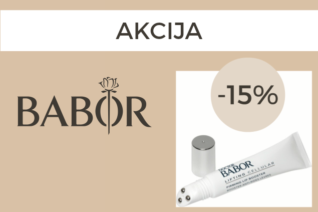 Dr. Babor Firming Lip Booster -15% nuolaida!