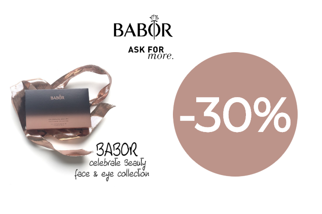 BABOR Celebrate Beauty Face Eye Collection -30% nuolaida!
