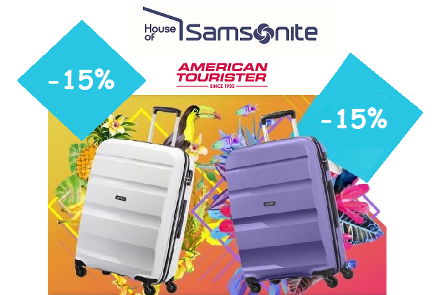 House of Samsonite – American Tourister -15%!